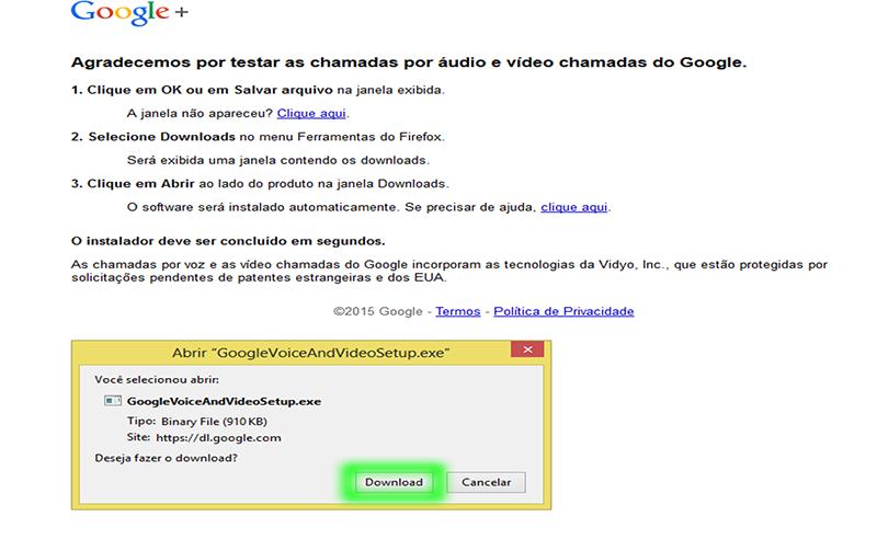 Como utilizar o Google hangouts pelo Gmail - Tutoriais